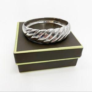 Ross-Simons Sterling Silver Scalloped bracelet